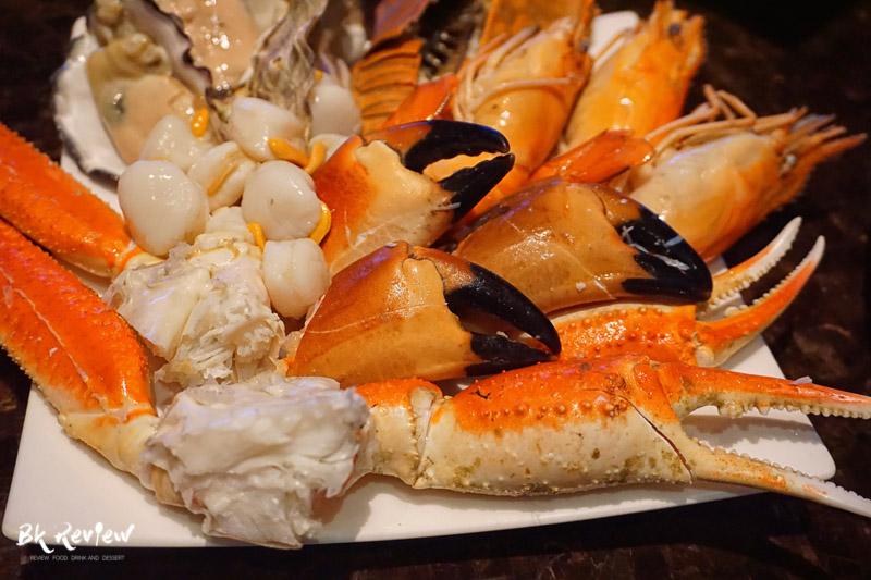 ซีฟู้ด ออนไอซ์ - Buffet Seafood Crowne Plaza Lumpini-14