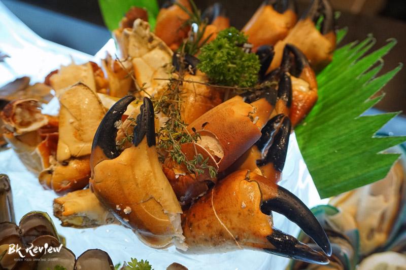 ซีฟู้ด ออนไอซ์ - Buffet Seafood Crowne Plaza Lumpini-5