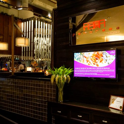 บรรยากาศ – Buffet Seafood Crowne Plaza Lumpini 6