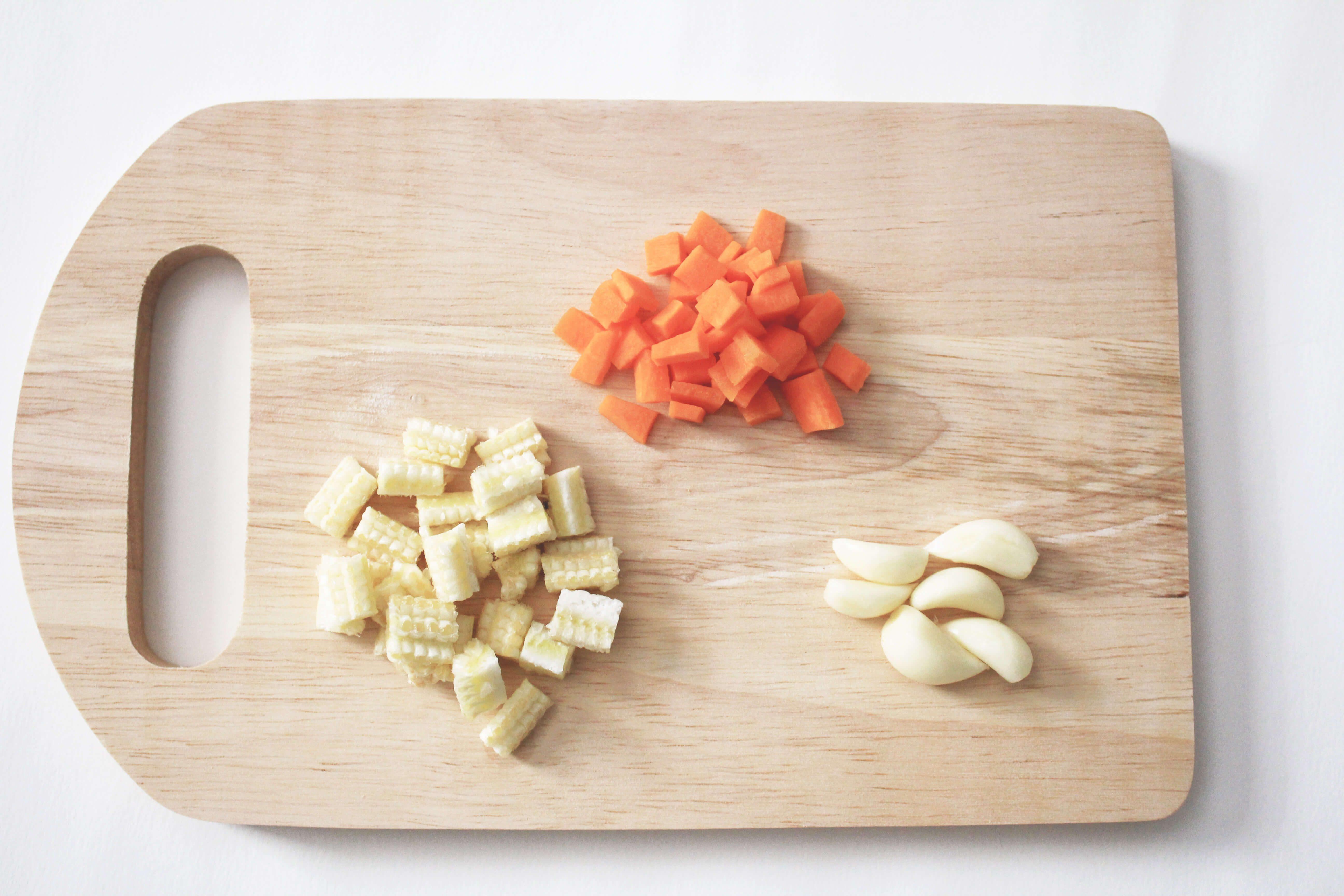 วัตถุดิบ-วิธีทำข้าวผัดกิมจิ