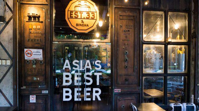 [รีวิว]พาแวะจิบเบียร์ที่ EST.33 By Singha เบียร์ดีอาหารโดน