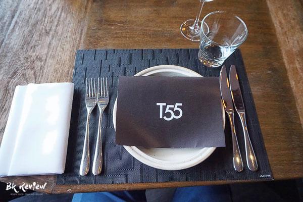 Menu - T55 New York Grill Room-3