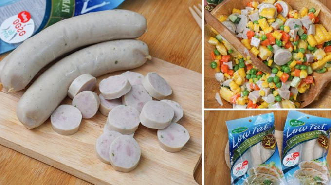 [รีวิว] ไส้กรอกพาร์สลีย์ไขมันต่ำ (Betagro Low Fat Sausage) อิ่มได้ไม่รู้สึกผิด!!