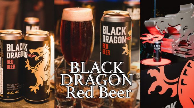 Cover BLACK DRAGON Red Beer