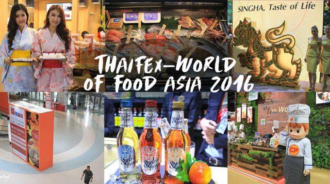 THAIFEX 2016 พาชมพาชิมสุดยอดอาหารไทย ผงาดไกลทั่วโลก