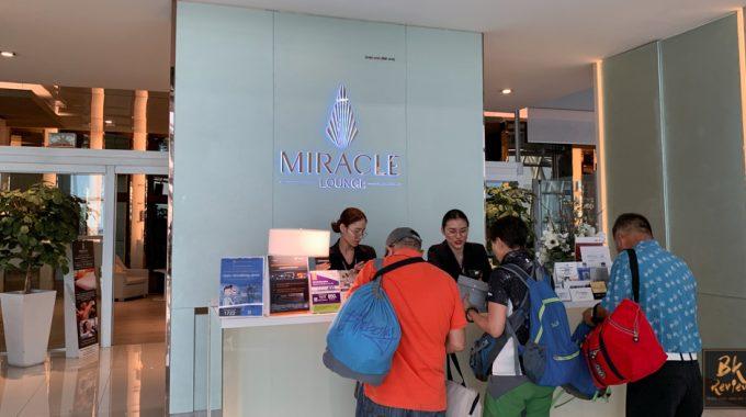 [รีวิว] ประสบการณ์เข้า Miracle Lounges Suvarnabhumi Airport ครั้งแรก