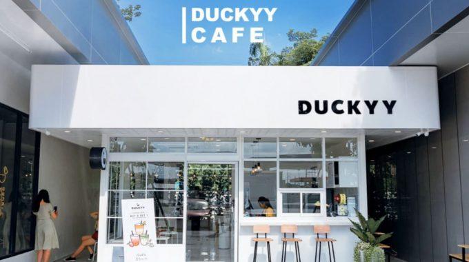 [รีวิว] คาเฟ่เปิดใหม่ Duckyy Tea Bar ย่านคลองหลวง