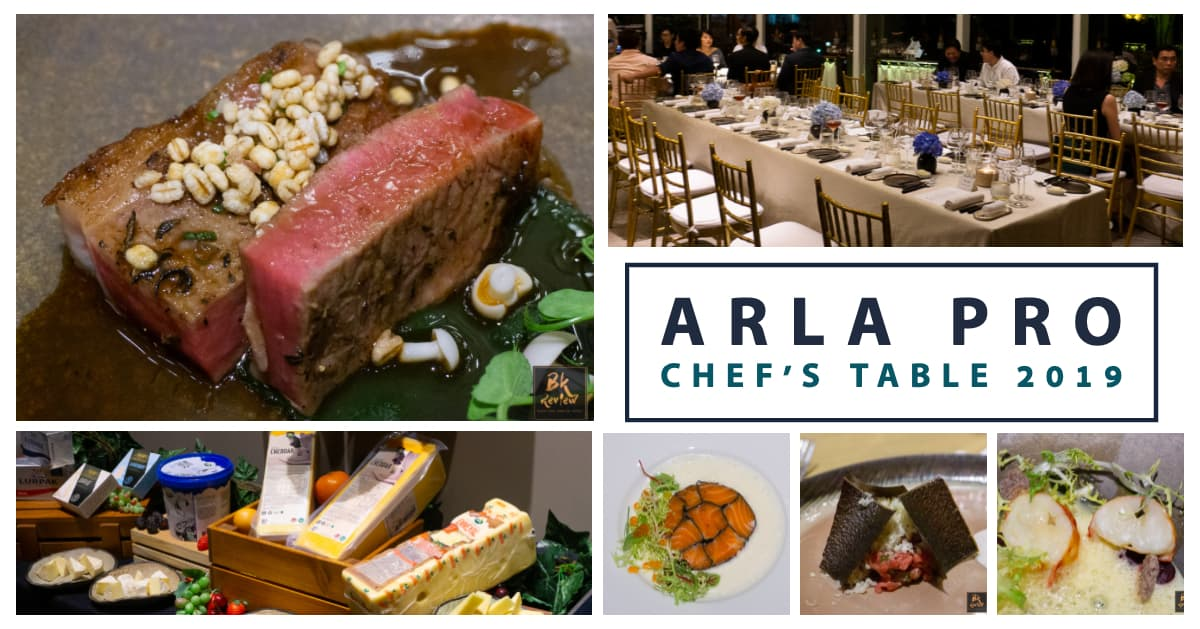 Arla Pro Chef's Table 2019 @Waldorf Astoria Bangkok