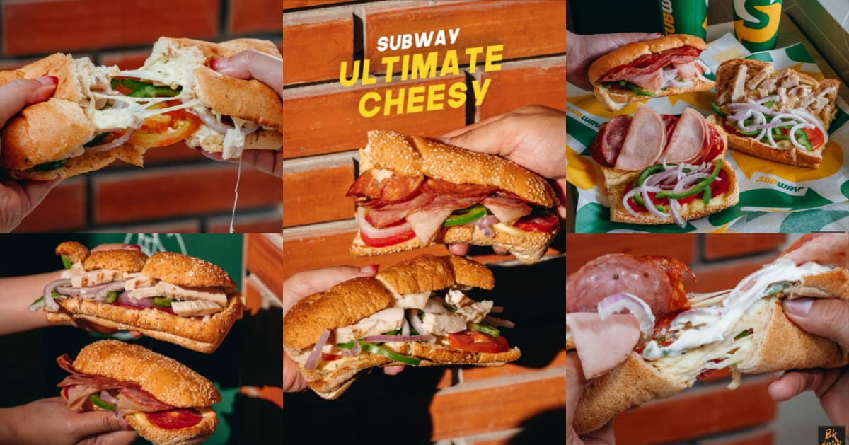 [รีวิว] ร้าน Subway กับเมนูใหม่แซนด์วิชชีสยืด #ชีสหนักมากกก
