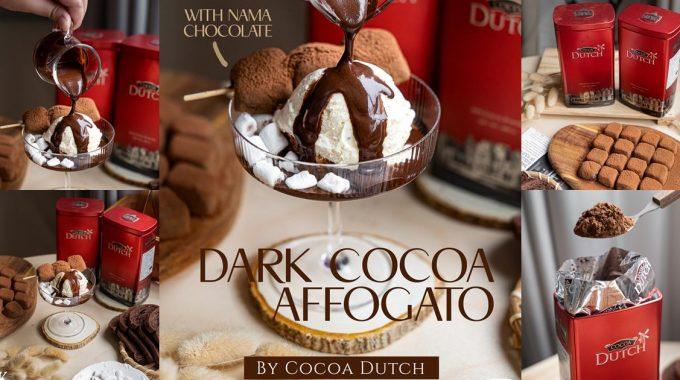 [วิธีทำ] Nama Chocolate Dark Cocoa Affogato By Cocoa Dutch – BKreview